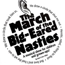 The March of the big-eared nasties play in Auburn NY