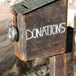 Donation box